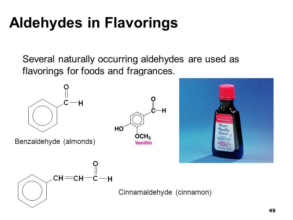 Aldehydes in Flavorings