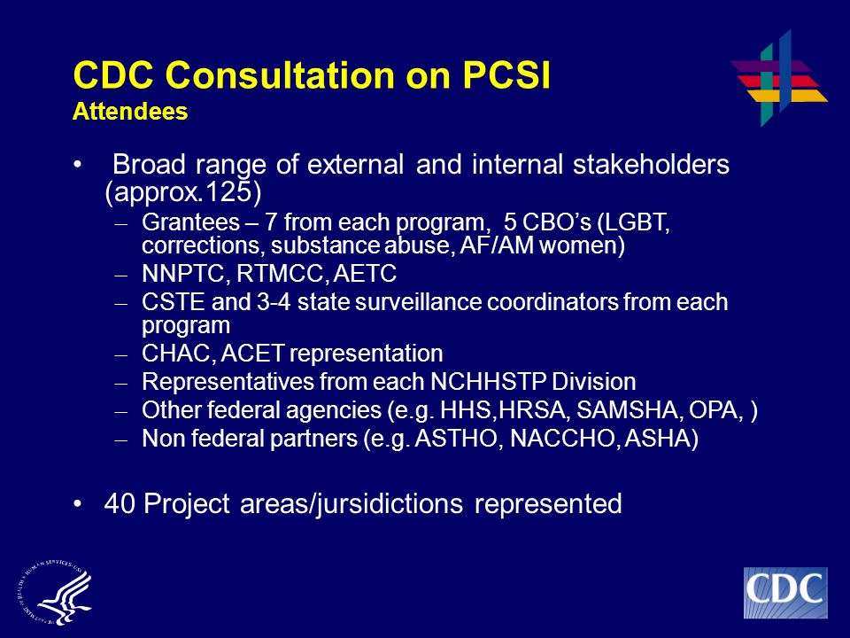 CDC Consultation on PCSI Attendees