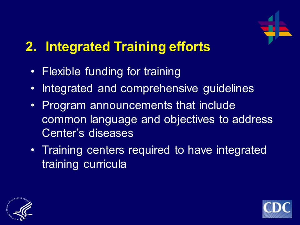 2. Integrated Training efforts