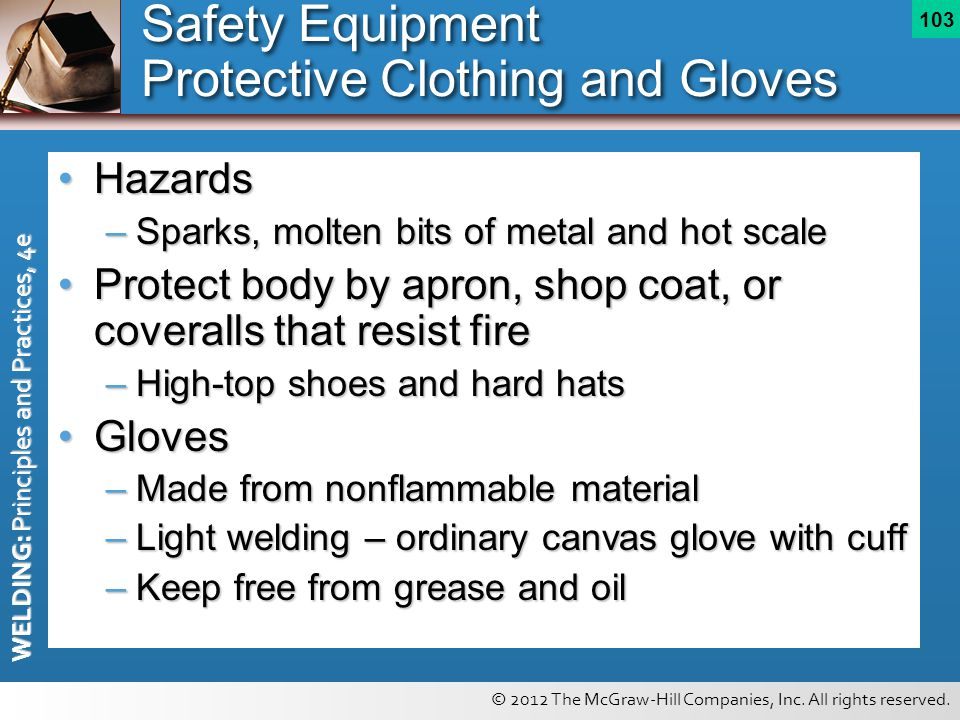 Safety Equipment Protective Clothing and Gloves