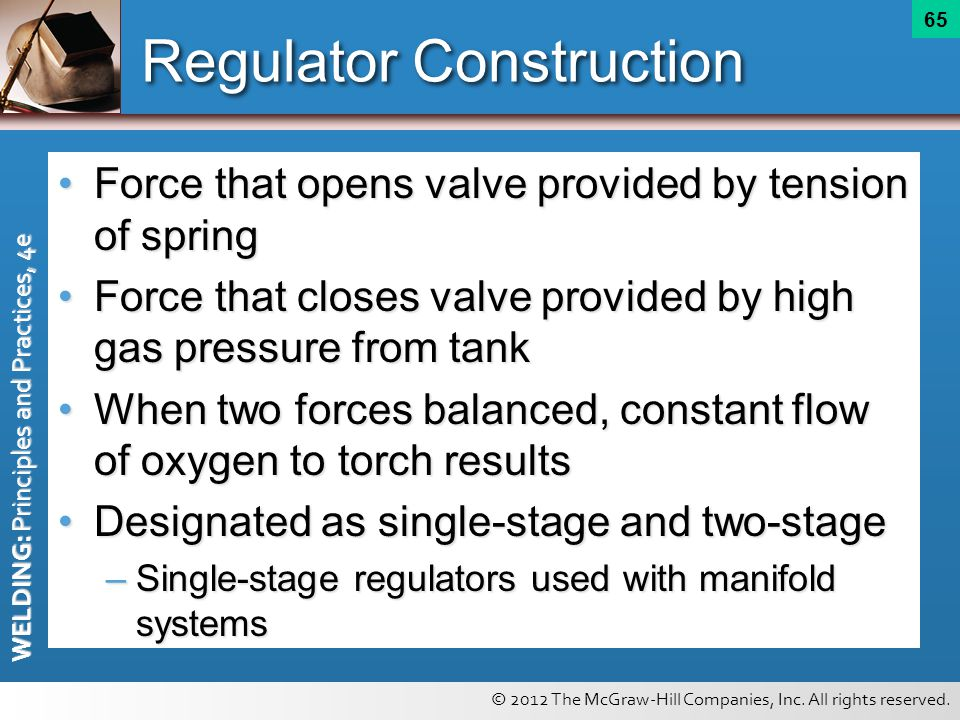 Regulator Construction