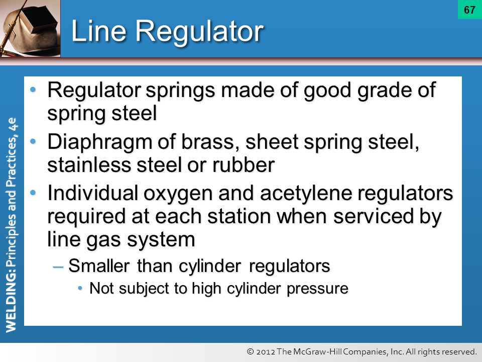 Line Regulator Regulator springs made of good grade of spring steel
