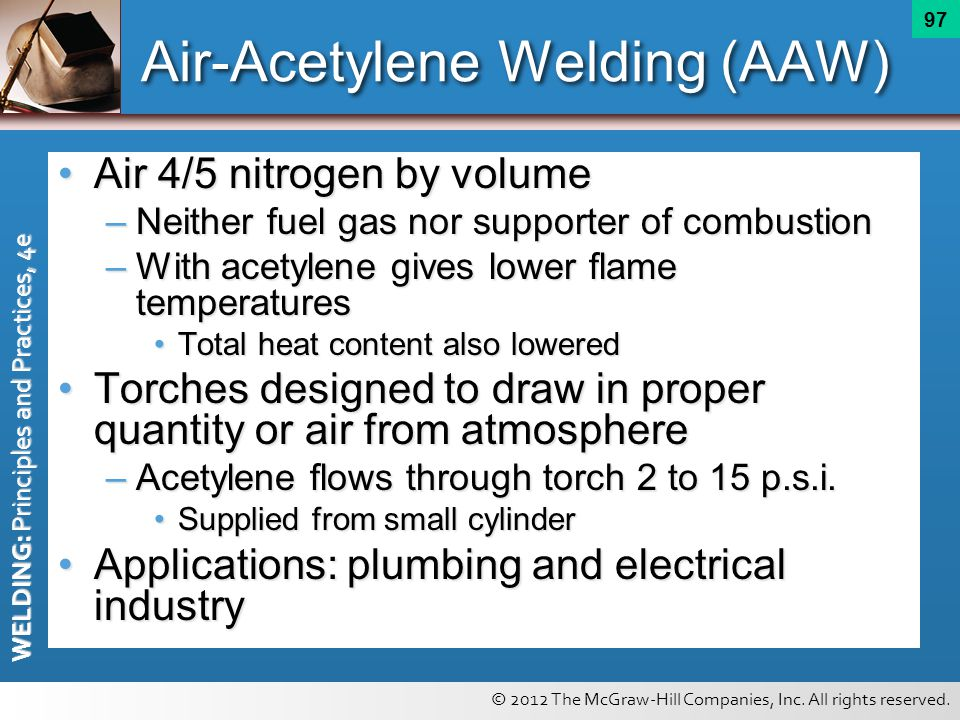 Air-Acetylene Welding (AAW)