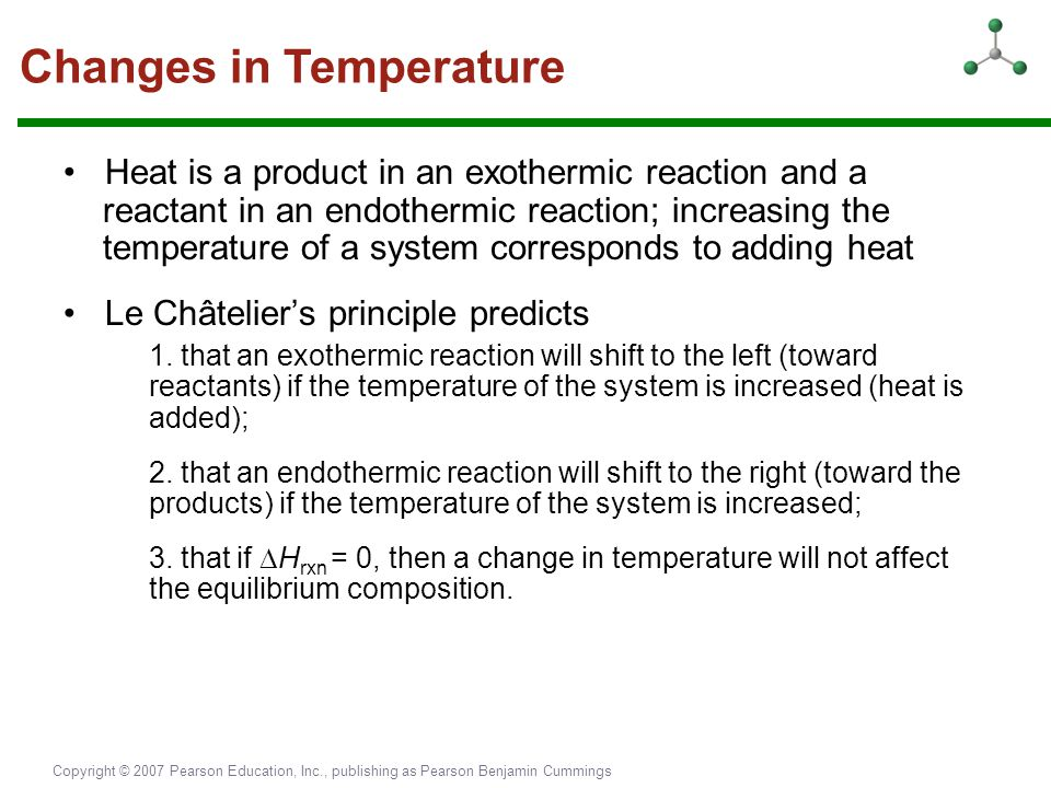 Changes in Temperature