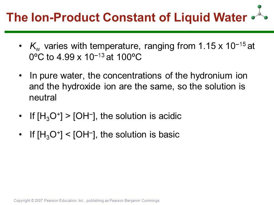 The Ion-Product Constant of Liquid Water