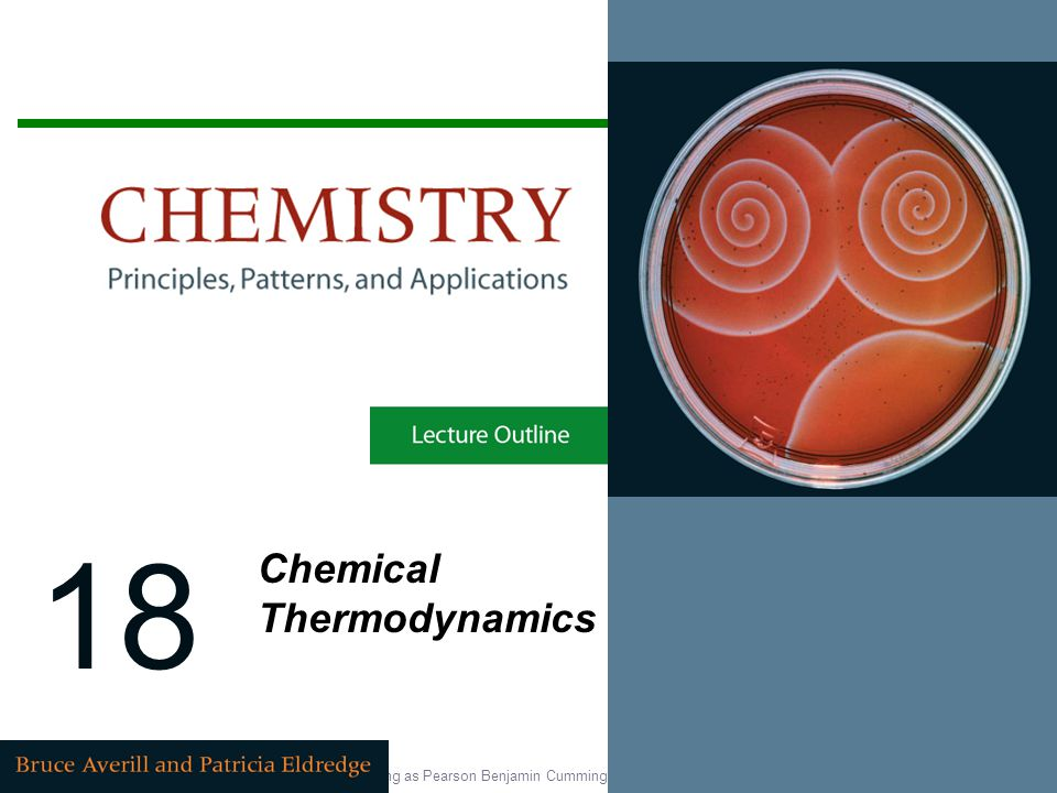 18 Chemical Thermodynamics