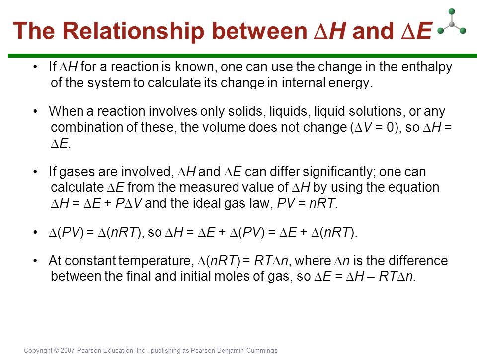 The Relationship between H and E