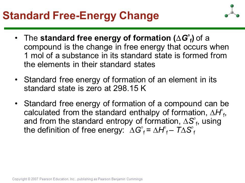 Standard Free-Energy Change