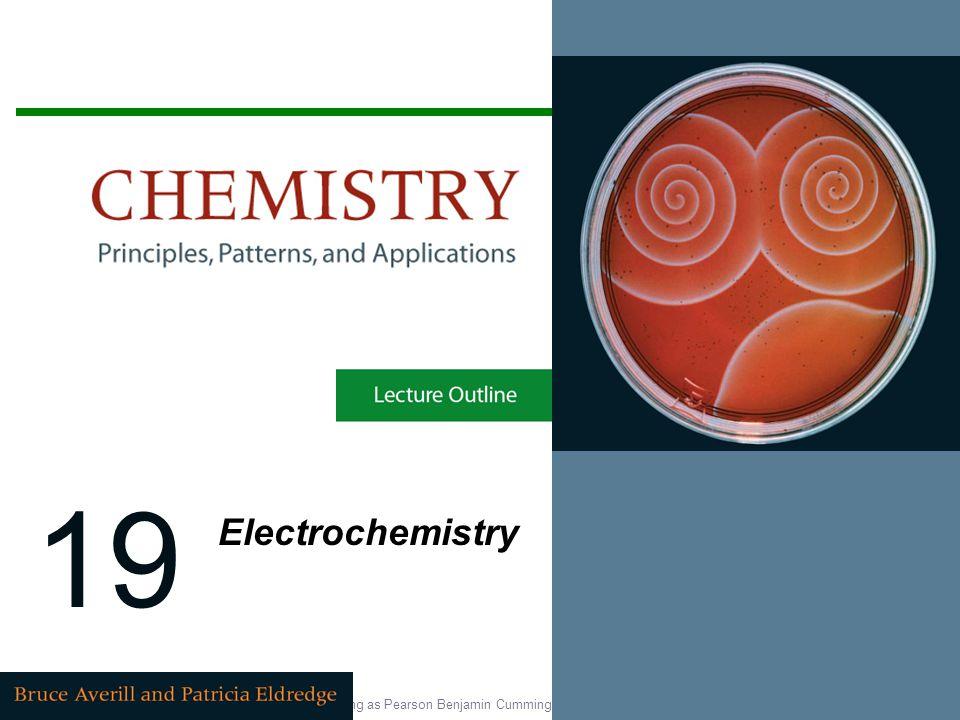 19 Electrochemistry