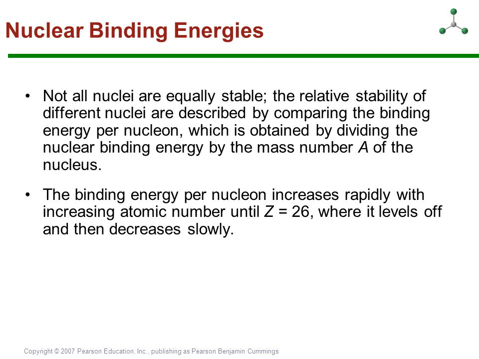 Nuclear Binding Energies
