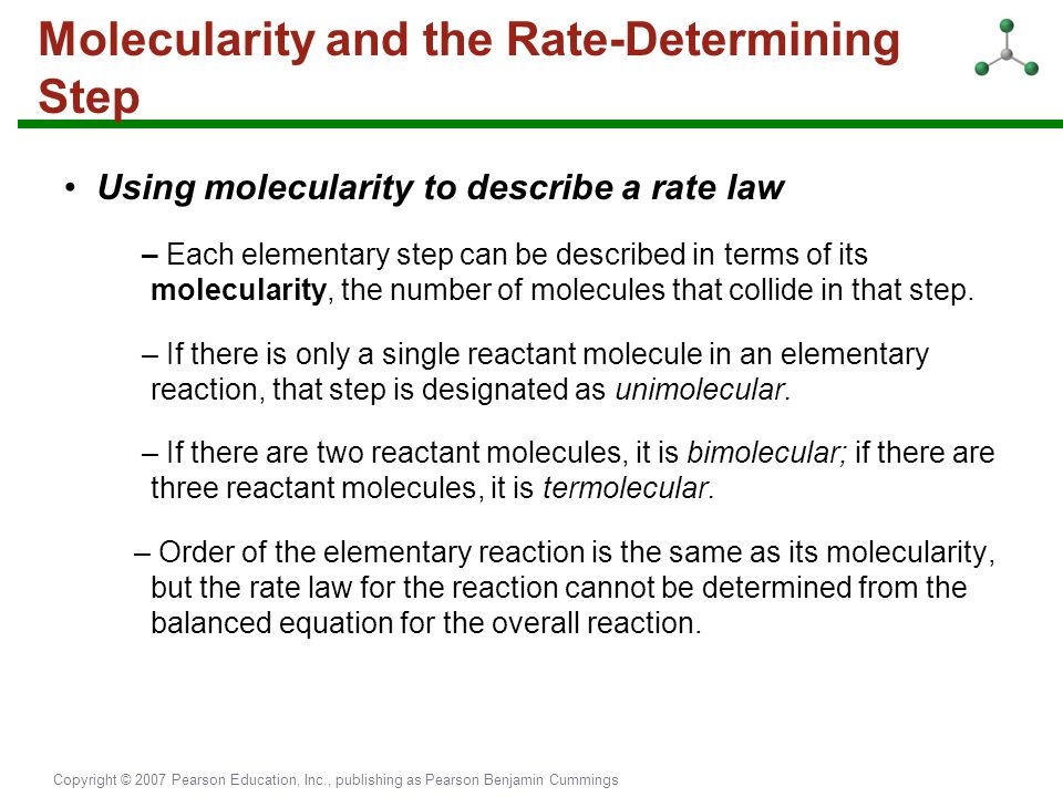 Molecularity and the Rate-Determining Step
