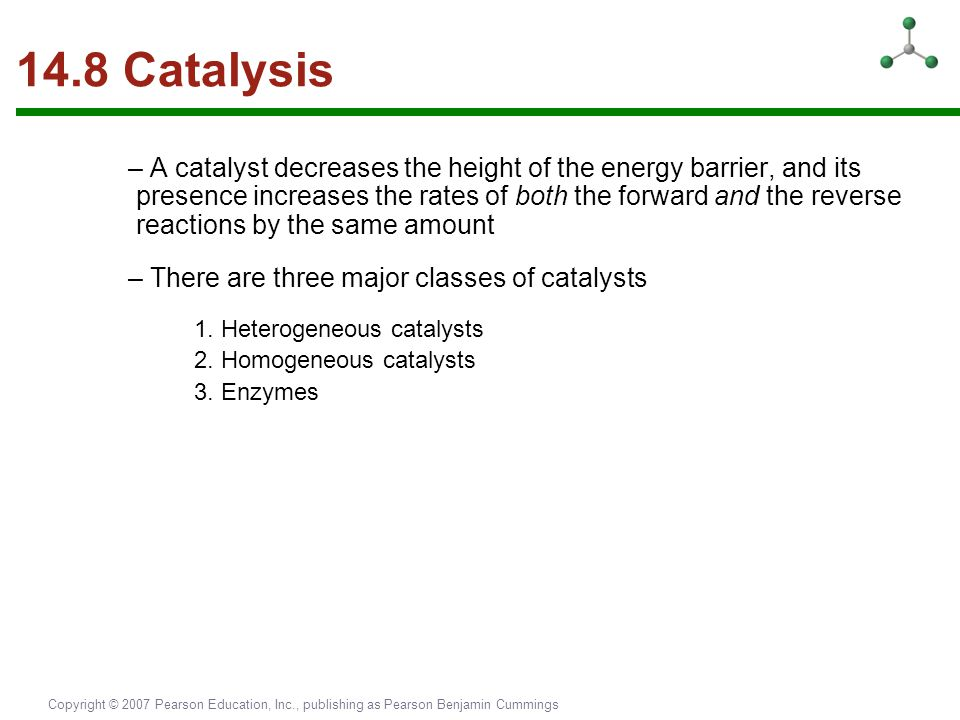 14.8 Catalysis