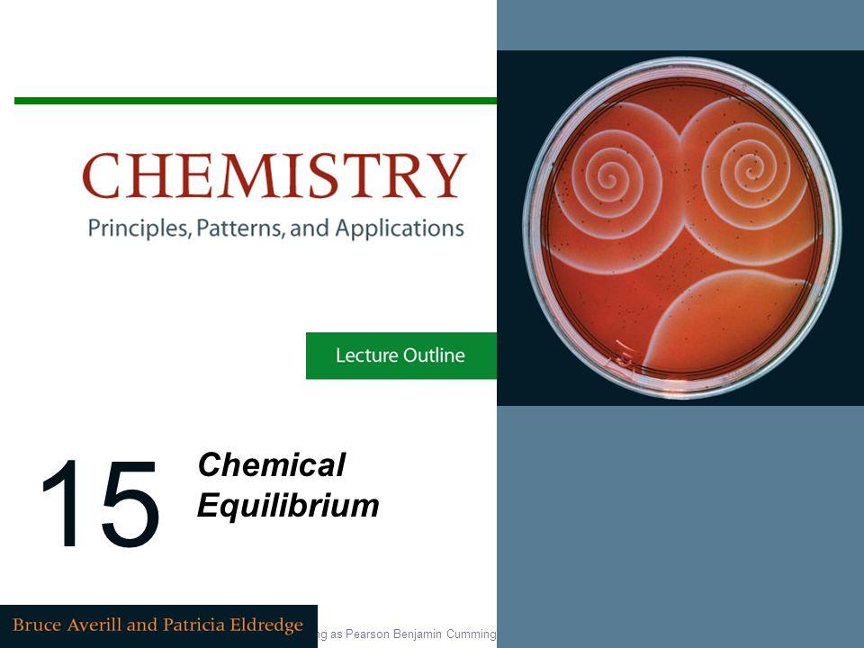 15 Chemical Equilibrium