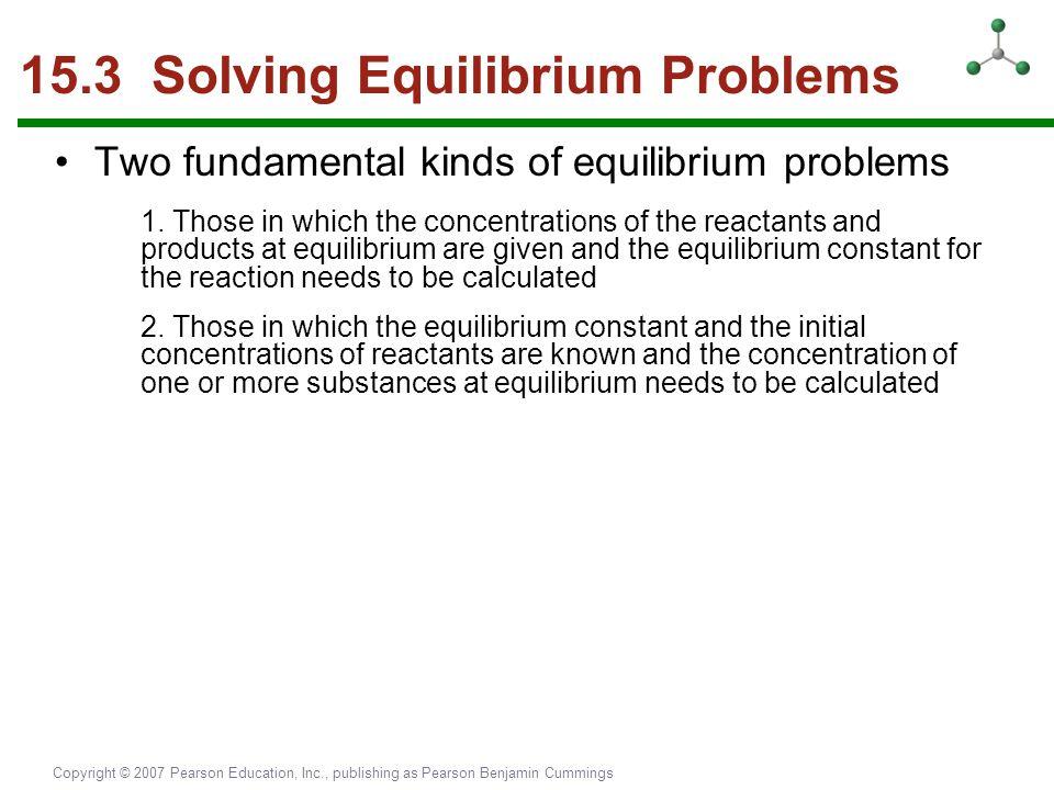 15.3 Solving Equilibrium Problems