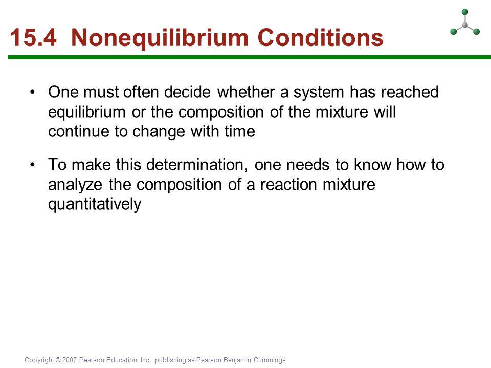 15.4 Nonequilibrium Conditions