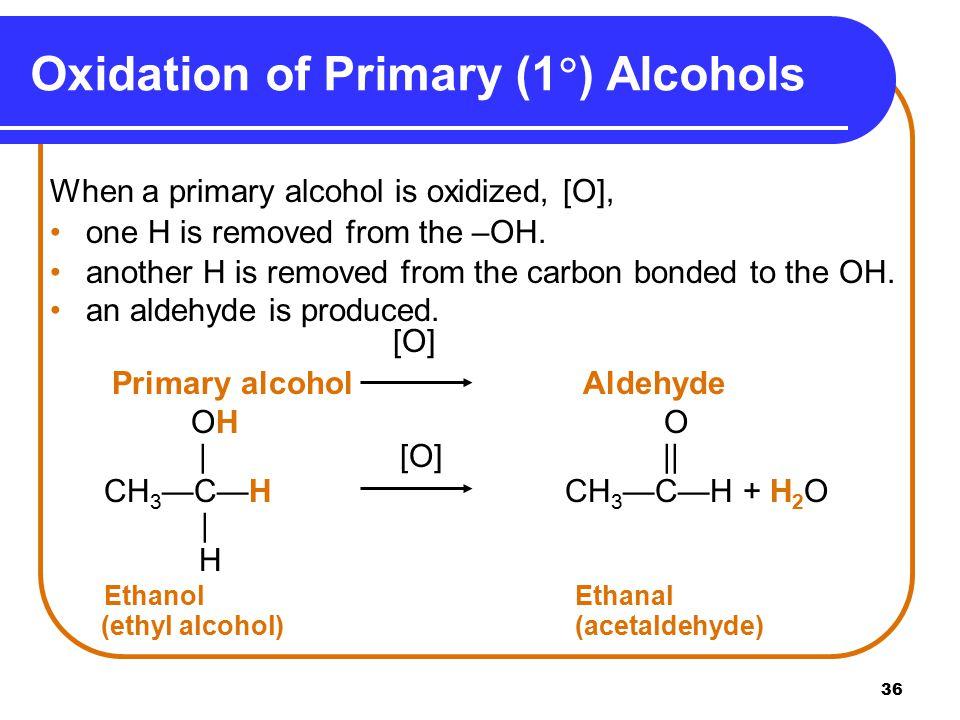 Oxidation of Primary (1) Alcohols