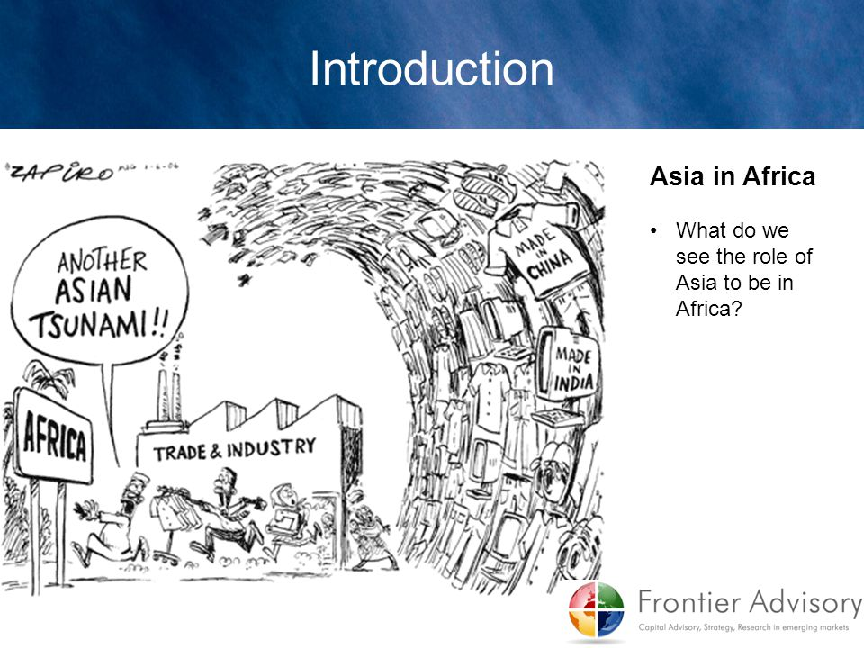 Introduction Asia in Africa