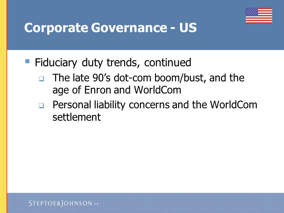 Corporate Governance - US