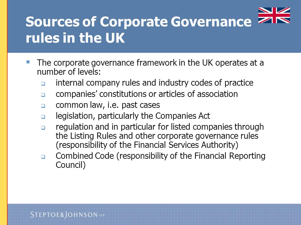 Companies Act 2006 Directors' fiduciary and other duties have been codified in sections 170-177 Companies Act 2006.
