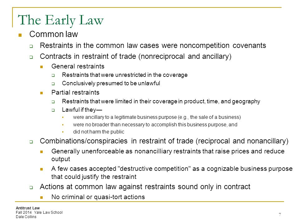 The Early Law Common law