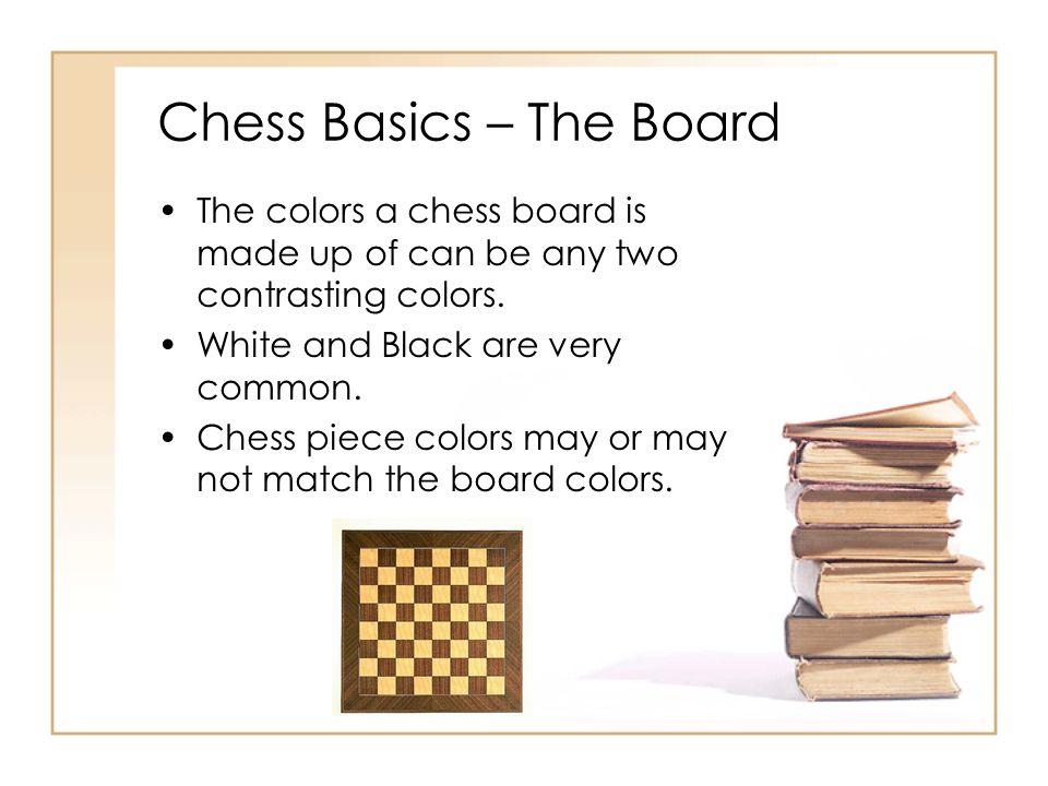 Chess Basics – The Board