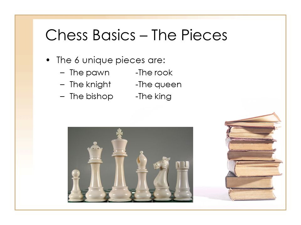 Chess Basics – The Pieces