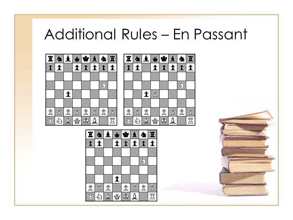 Additional Rules – En Passant