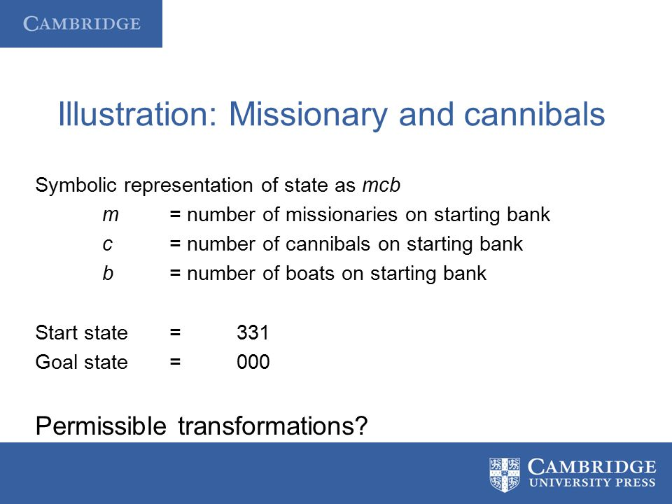 Illustration: Missionary and cannibals