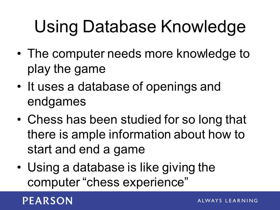 Using Database Knowledge