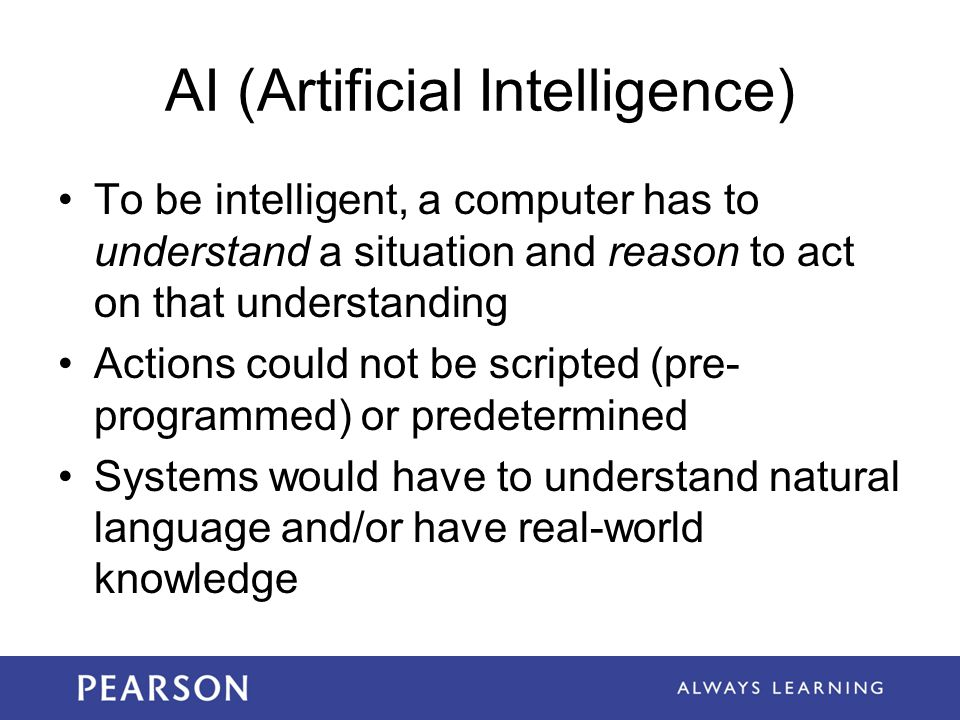 AI (Artificial Intelligence)