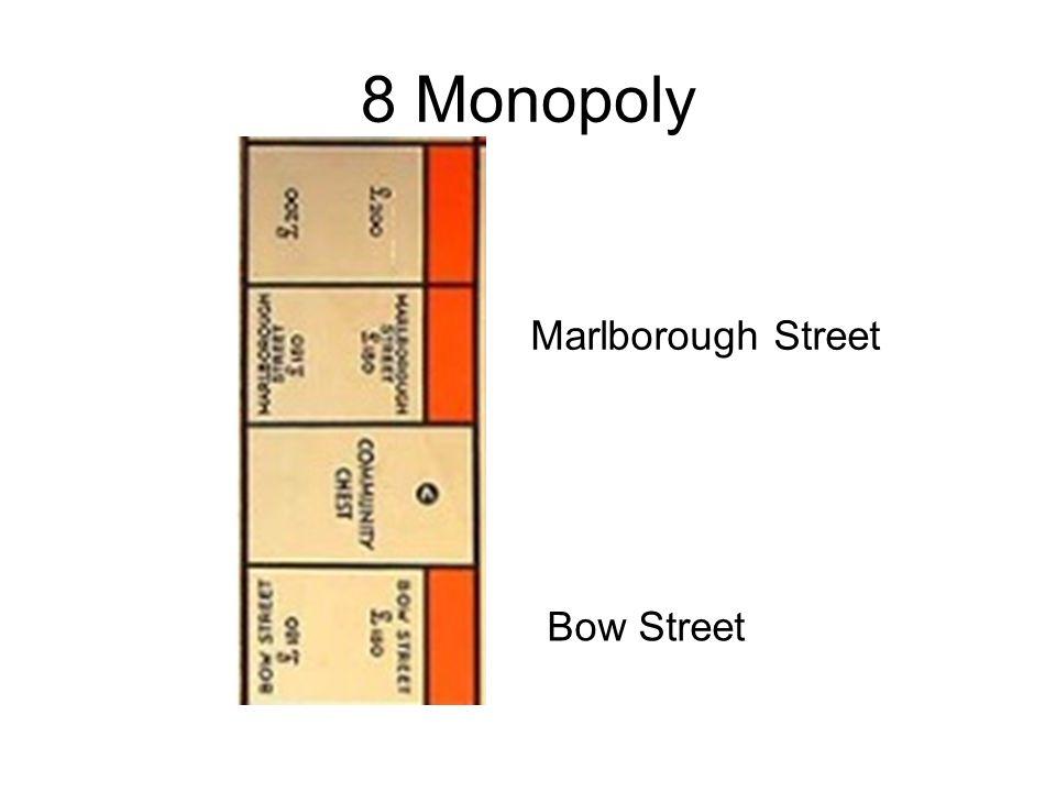 8 Monopoly Marlborough Street Bow Street