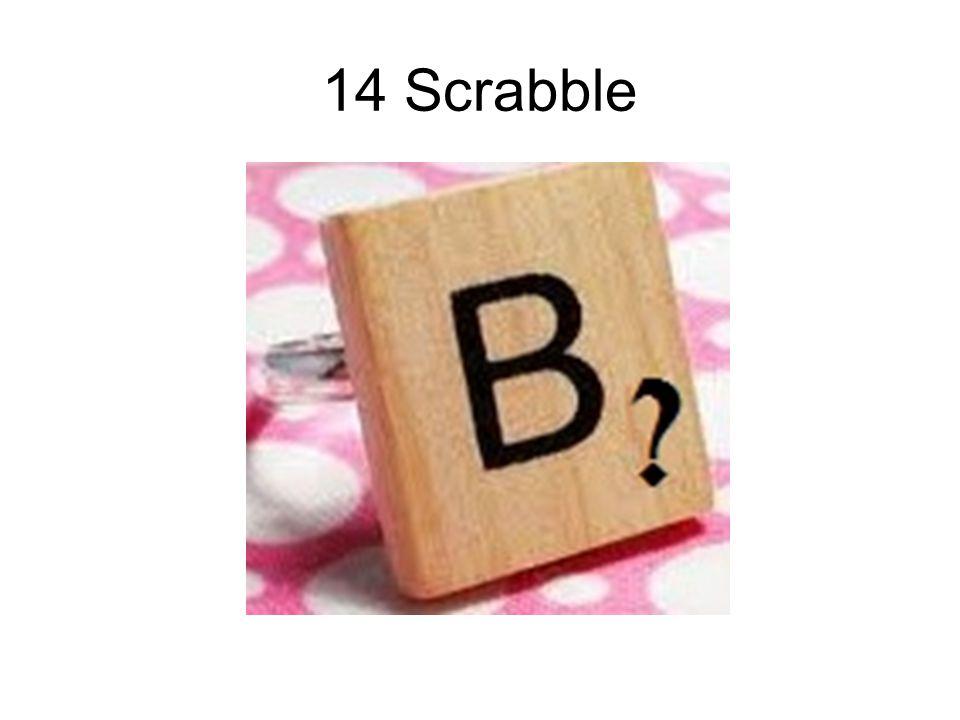14 Scrabble