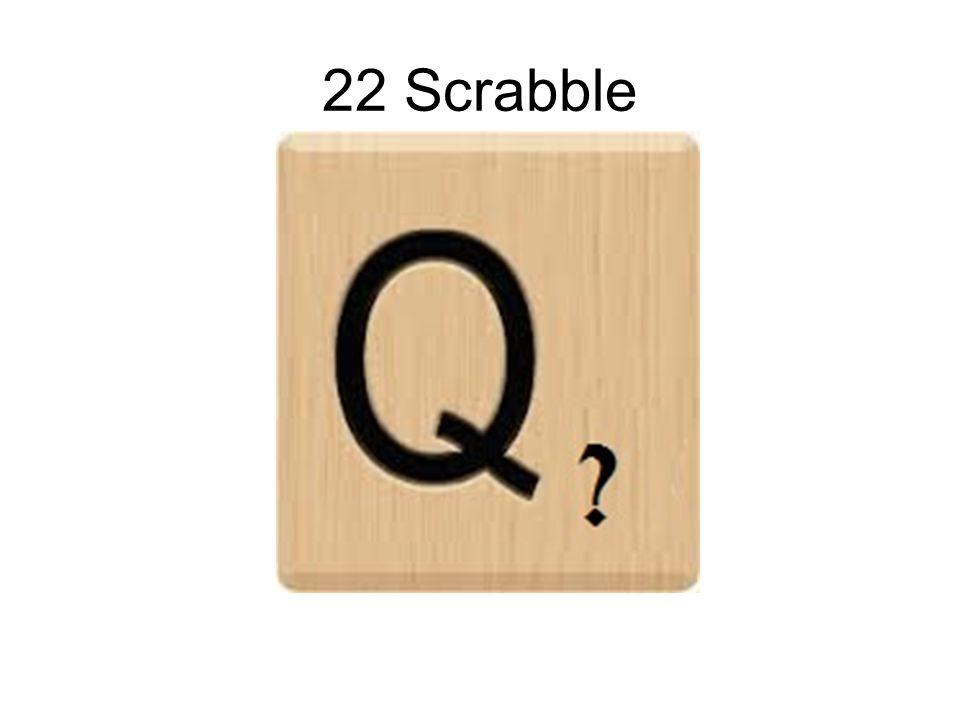 22 Scrabble