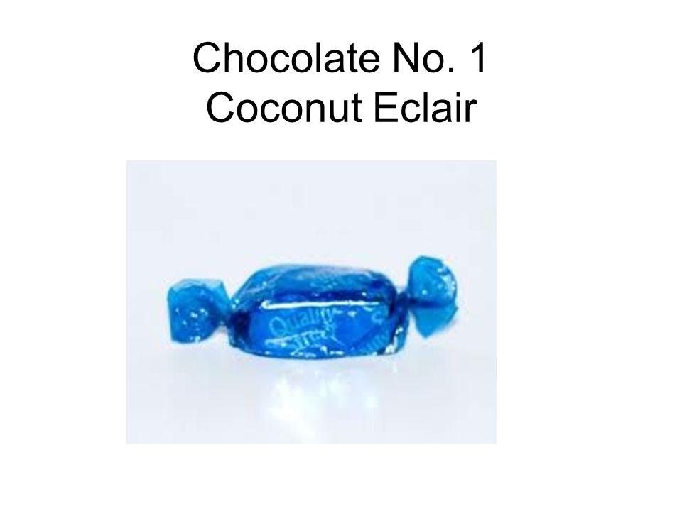 Chocolate No. 1 Coconut Eclair