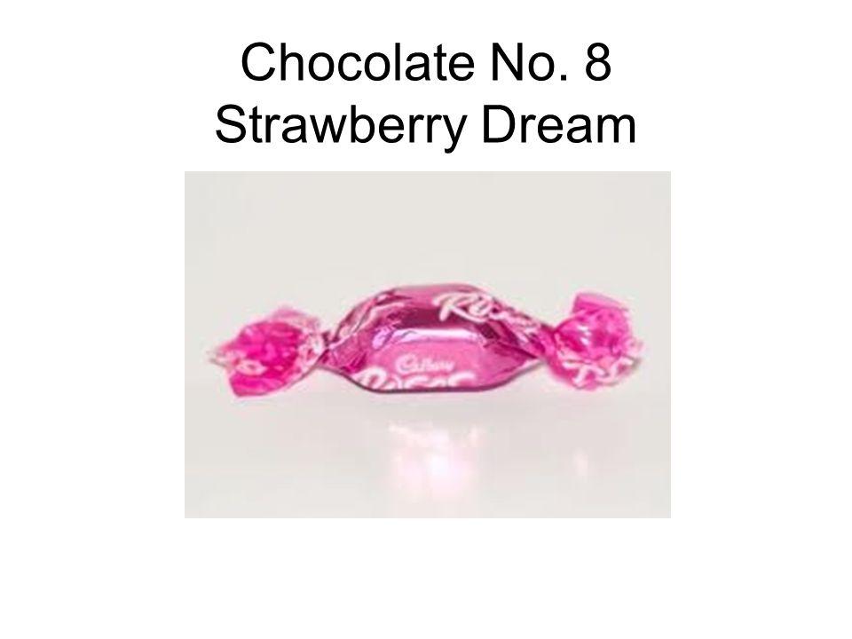 Chocolate No. 8 Strawberry Dream