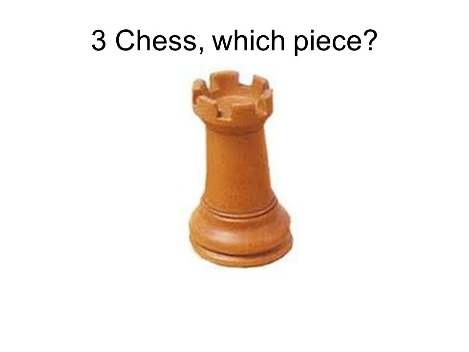 3 Chess, which piece