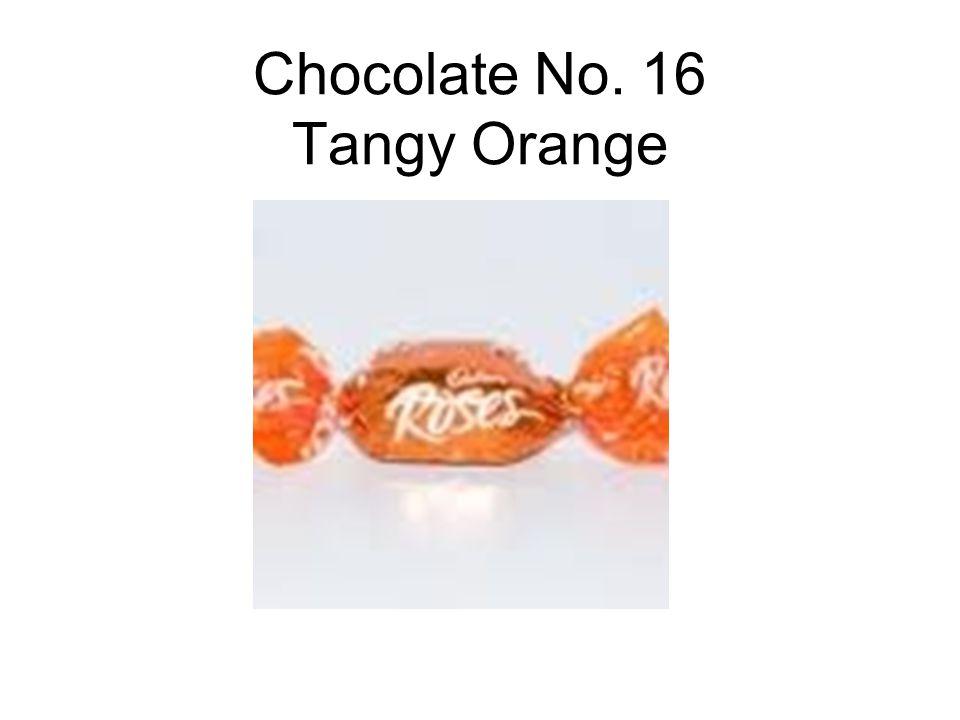 Chocolate No. 16 Tangy Orange