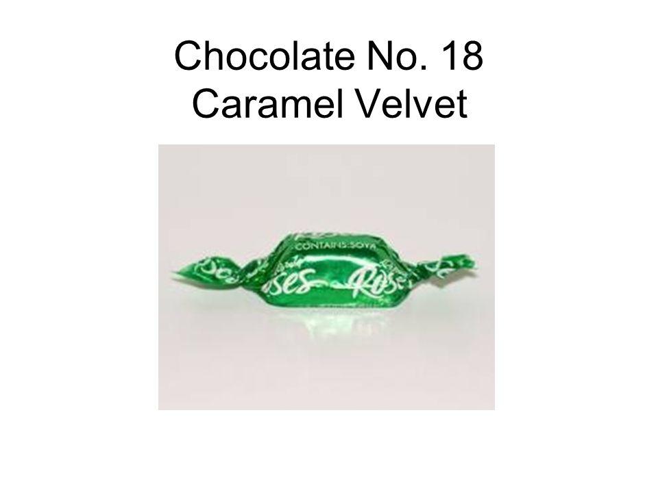 Chocolate No. 18 Caramel Velvet