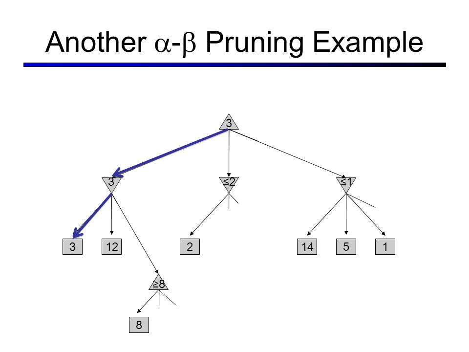 Another - Pruning Example