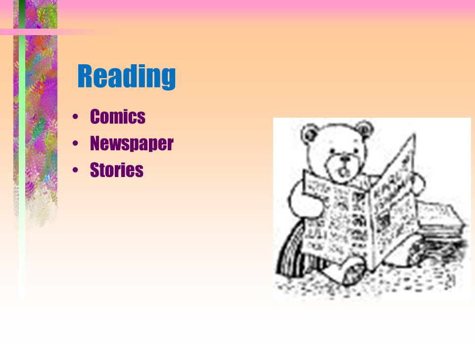 Reading Comics Newspaper Stories