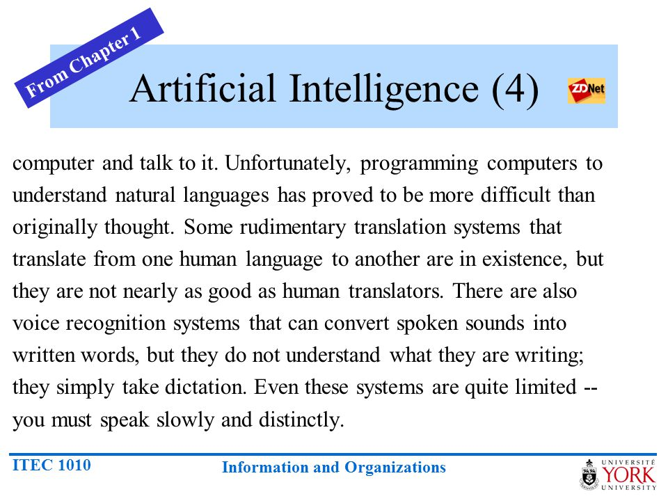Artificial Intelligence (4)
