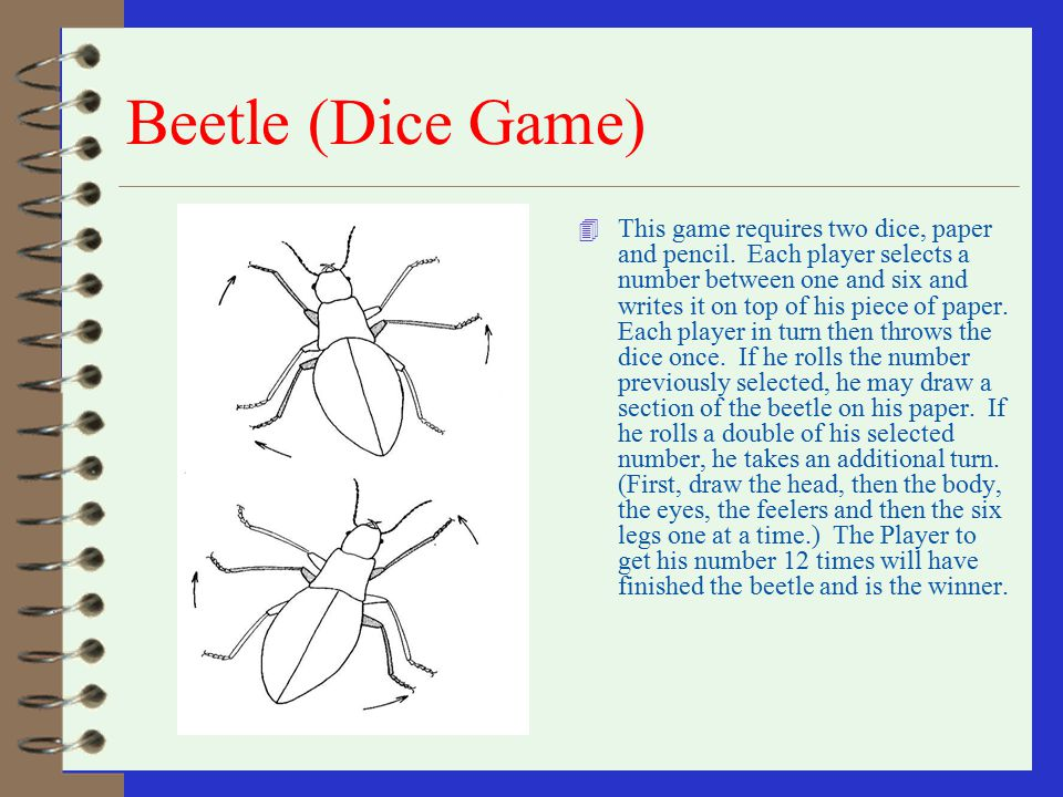 Beetle (Dice Game)