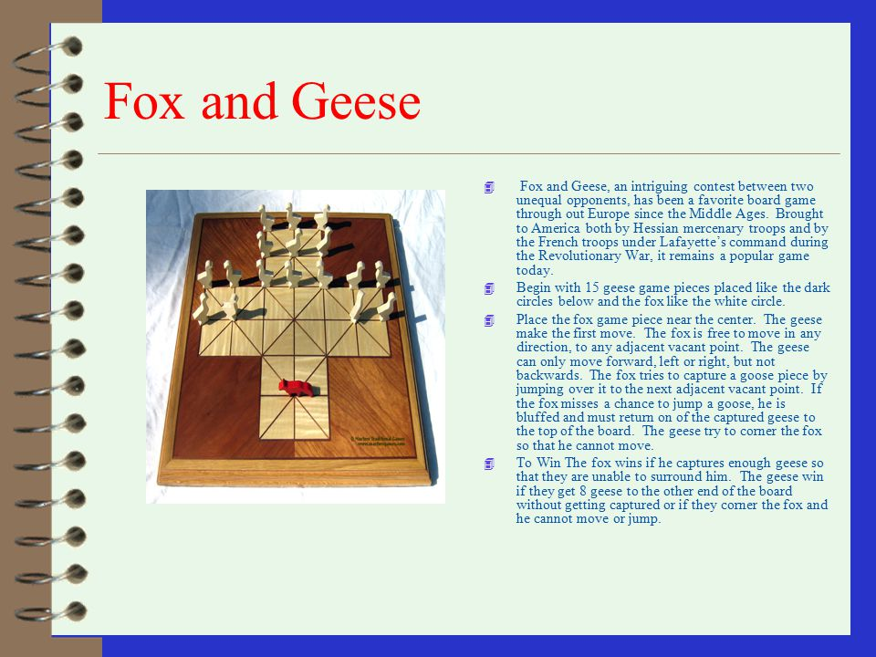 Fox and Geese