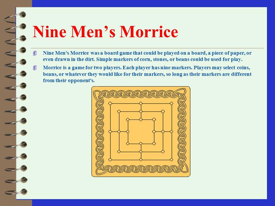 Nine Men's Morrice