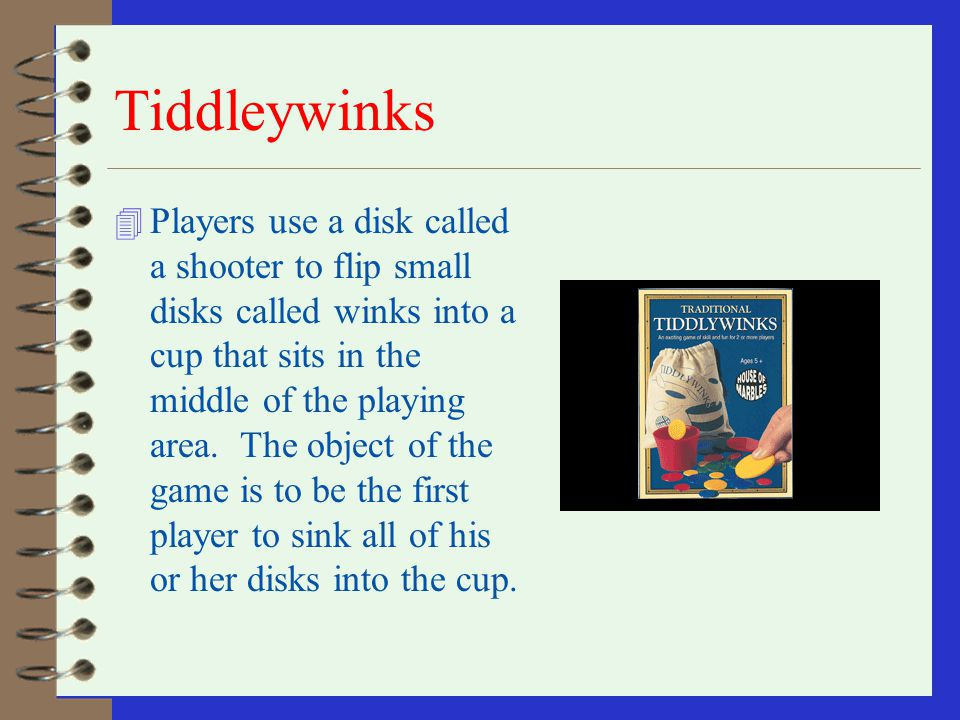 Tiddleywinks