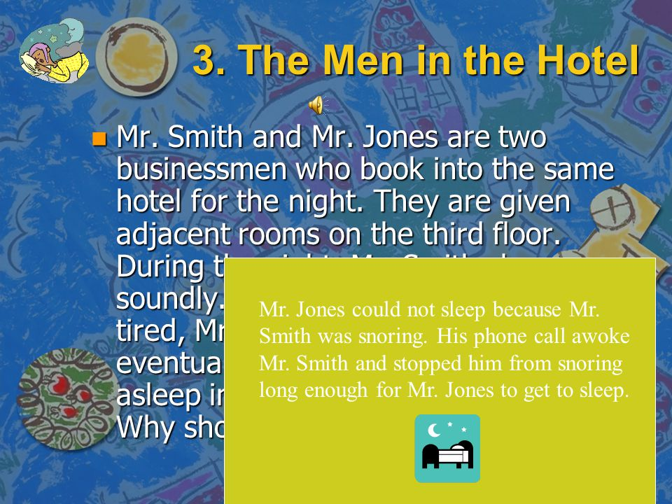 3. The Men in the Hotel