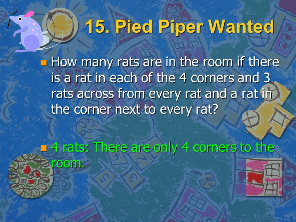 15. Pied Piper Wanted
