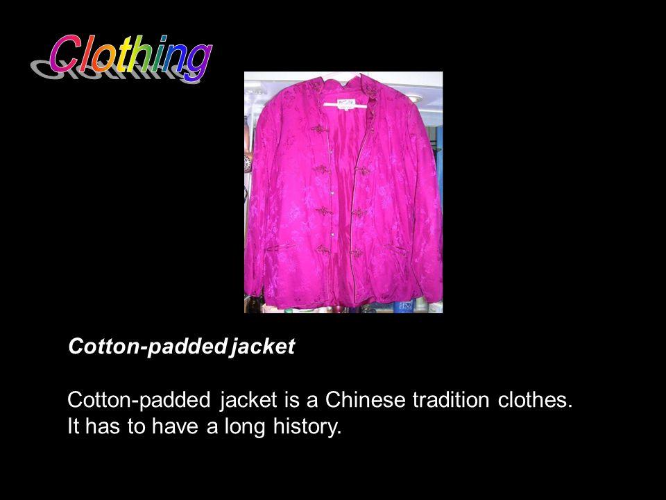 Clothing Cotton-padded jacket