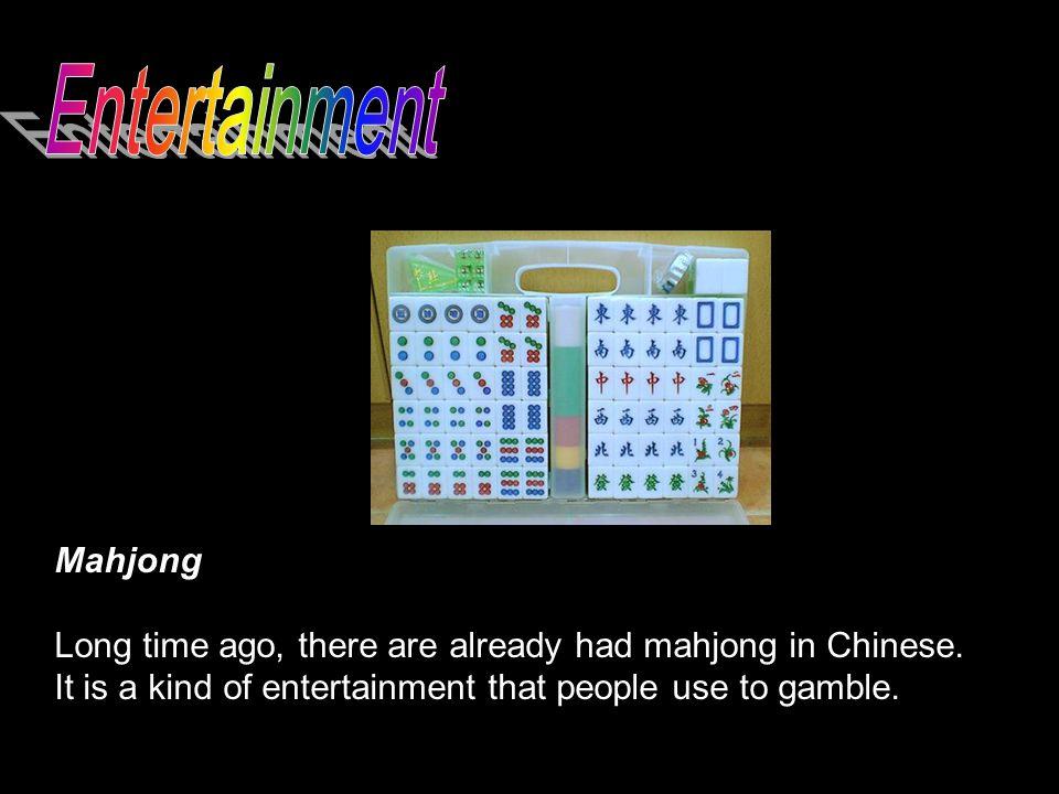 Entertainment Mahjong