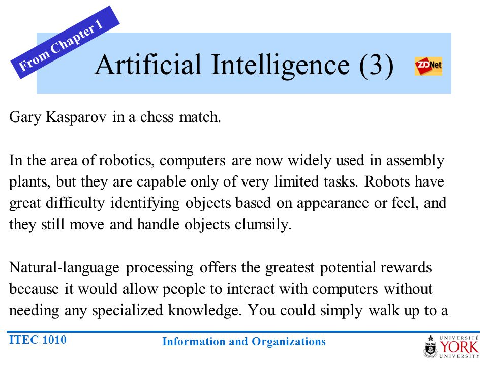 Artificial Intelligence (3)